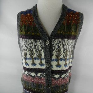 Northern Reflections Sweater Vest Women's Tree